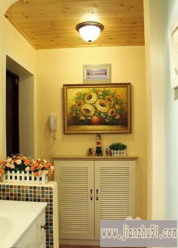 爽的室内家庭家居装饰,打造一个属于自己的田园风格设计图片